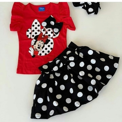 Minnie mouse setje